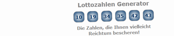 Lottozahlen Generator Online